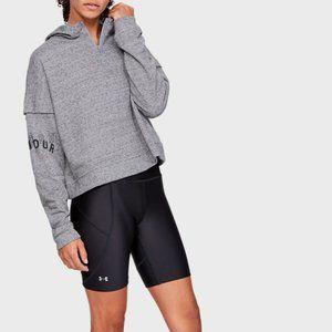 NWT Under Armour Hoodie Sweatshirt Gray 1/4 Zip